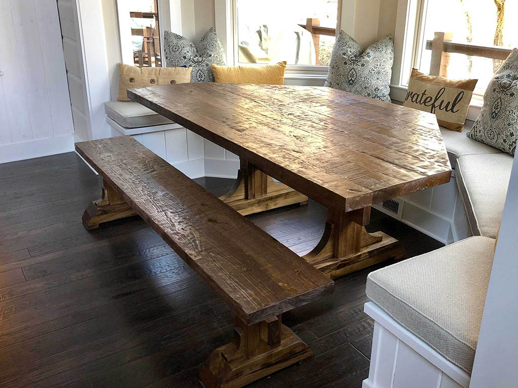 Bay Window Tables Farmhouse Furniture And Home Decor