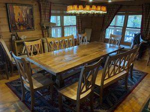 farmhouse dining table 400x