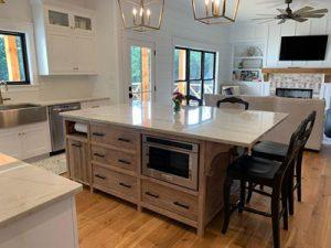 farmhouse kitchen island 400x