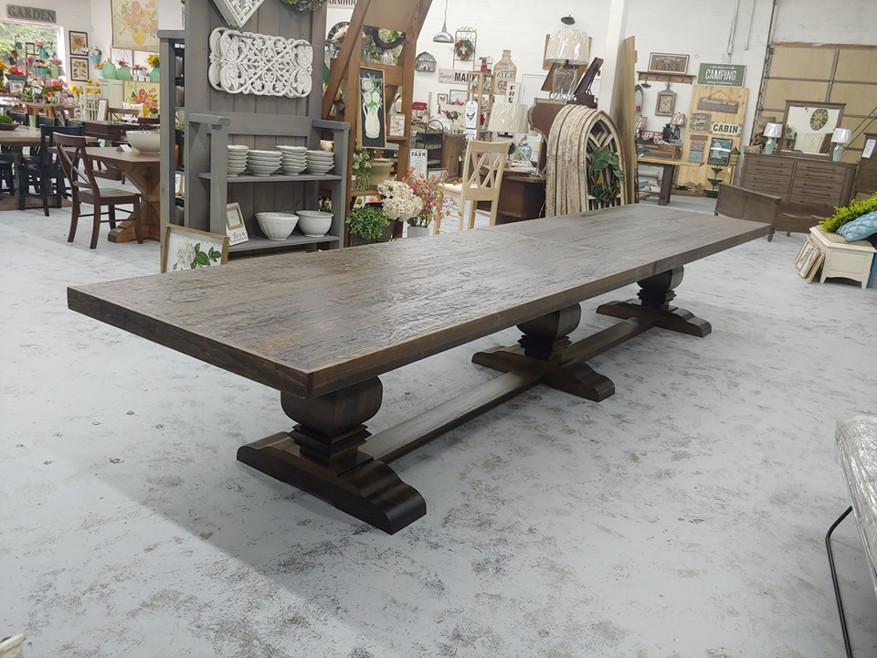 16 Ft Dining Or Conference Table Farmhouse Furniture And Home Decor
