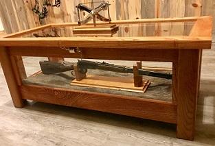 Gl Display Coffee Table Farmhouse